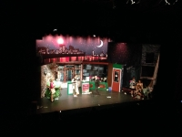 LITTLE SHOP OF HORRORS BÜHNENBILD